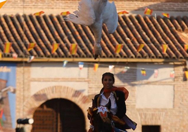 Tradycyjna hiszpańska zabawa