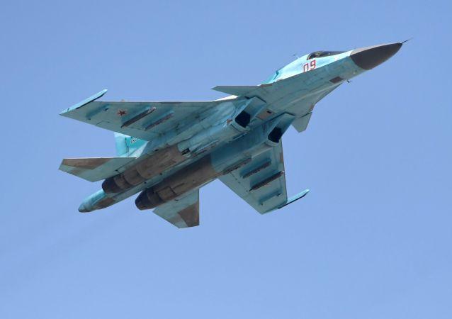 Myśliwiec bombardujący Su-34