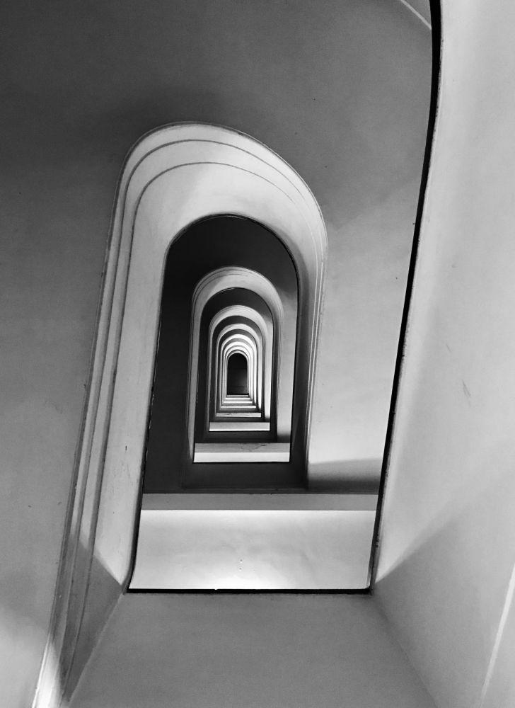 Fotograf Massimo Graziani zajął pierwsze miejsce w nominacji architektura w konkursie fotograficznym iPhone Photography Awards 2018