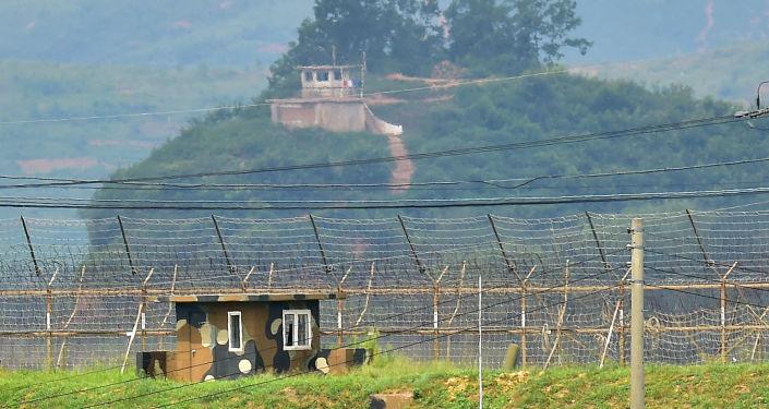 Punkty wojskowe Korei Półudniowej i Korei Północnej