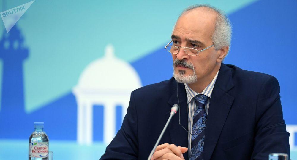 Stały przedstawiciel Syrii przy ONZ i szef delegacji syryjskiego rządu na X międzynarodowym spotkaniu w sprawie Syrii
