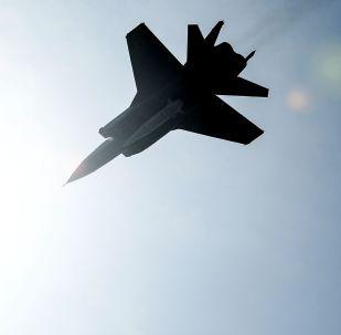 """Wielozadaniowe myśliwce MiG-31 z hipersonicznymi pociskami """"Kinżał"""""""