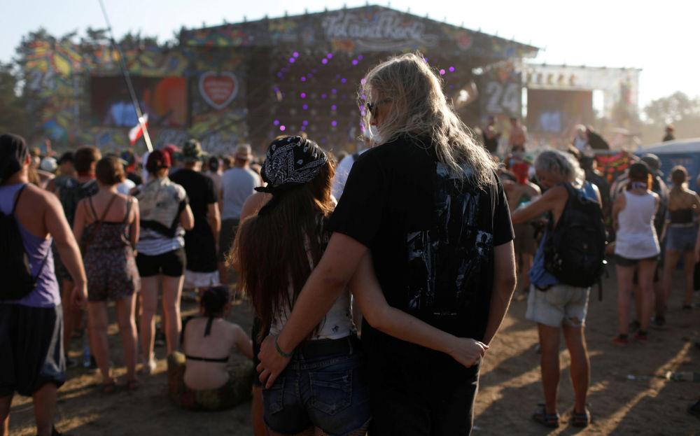 Uczestnicy 24. festiwalu Pol'and'Rock (były Przystanek Woodstock)