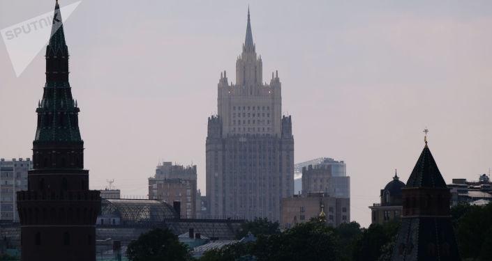 Budynek rosyjskiego ministerstwa spraw zagranicznych
