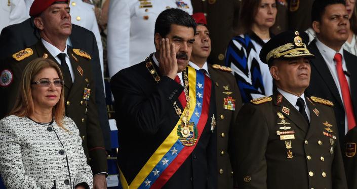 Prezydent Wenezueli Nicolas Maduro podczas przemówienia w Caracas został zaatakowany przy użyciu dwóch dronów wypełnionych materiałami wybuchowymi