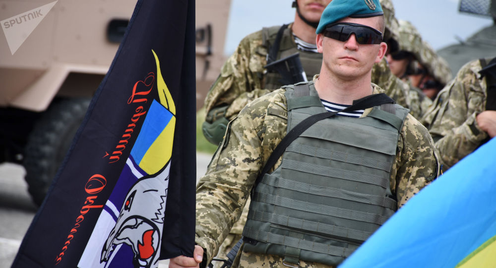 Ukraiński żołnierz