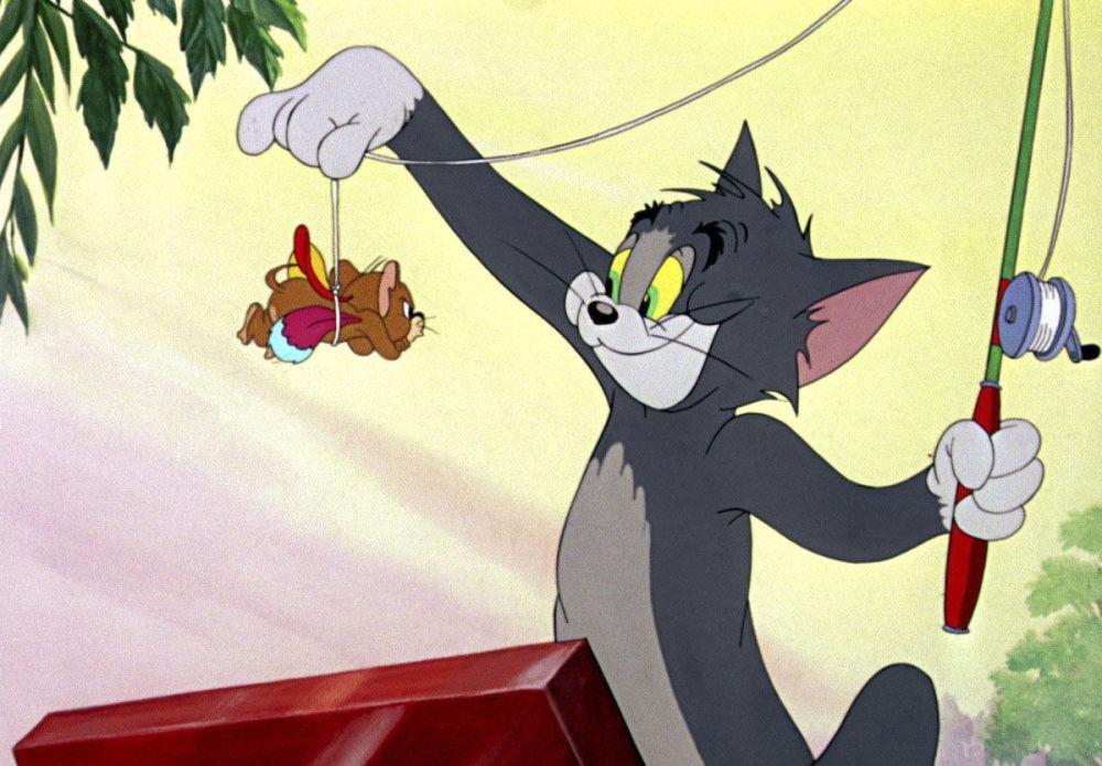 Scena z filmu Tom i Jerry