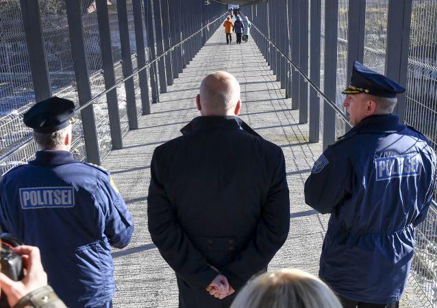 Przejście graniczne na granicy estońsko-rosyjskiej