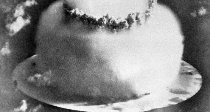 Wybuch bomby wodorodowej na Oceanie Spokojnym