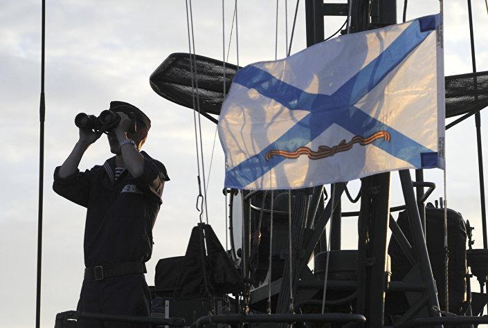 Ćwiczenia batalionu piechoty morskiej Flotylli Kaspijskiej. Zdjęcie archiwalne