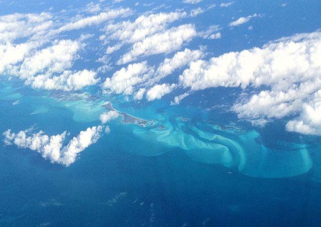 Widok na Trójkąt Bermudzki