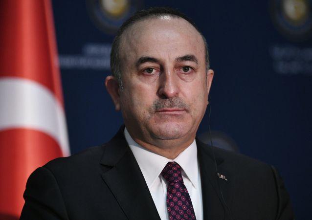 Szef MSZ Turcji Mevlut Cavusoglu. Zdjęcie archiwalne