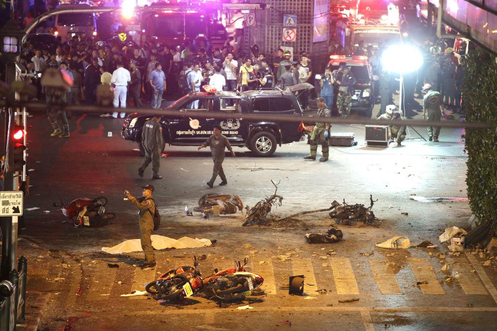 Eksplozja w centrum Bangkoku