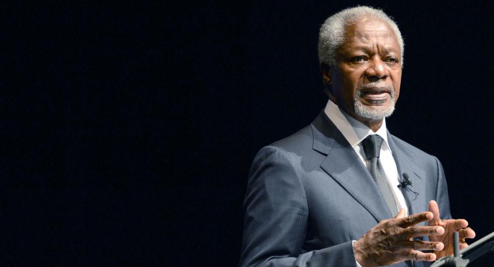 Były sekretarz generalny ONZ Kofi Annan