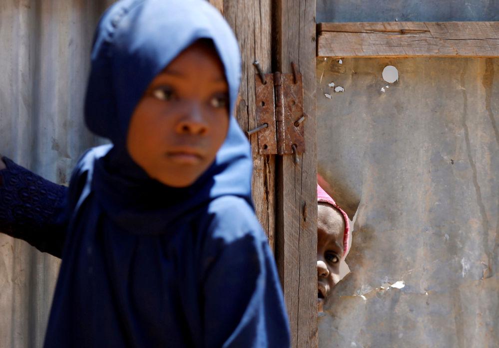Dzieci w obozie dla uchodźców w Kakuma w północnej Kenii