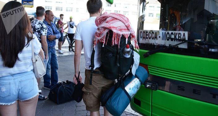 Autobus Odessa-Moskwa i pasażerowie