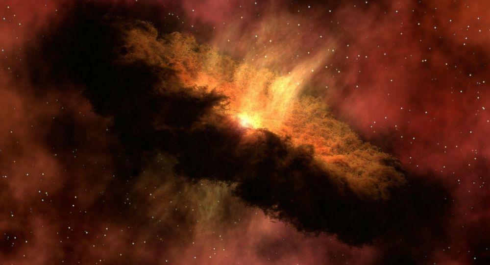 Ilustracja Wielkiego Wybuchu w kosmosie
