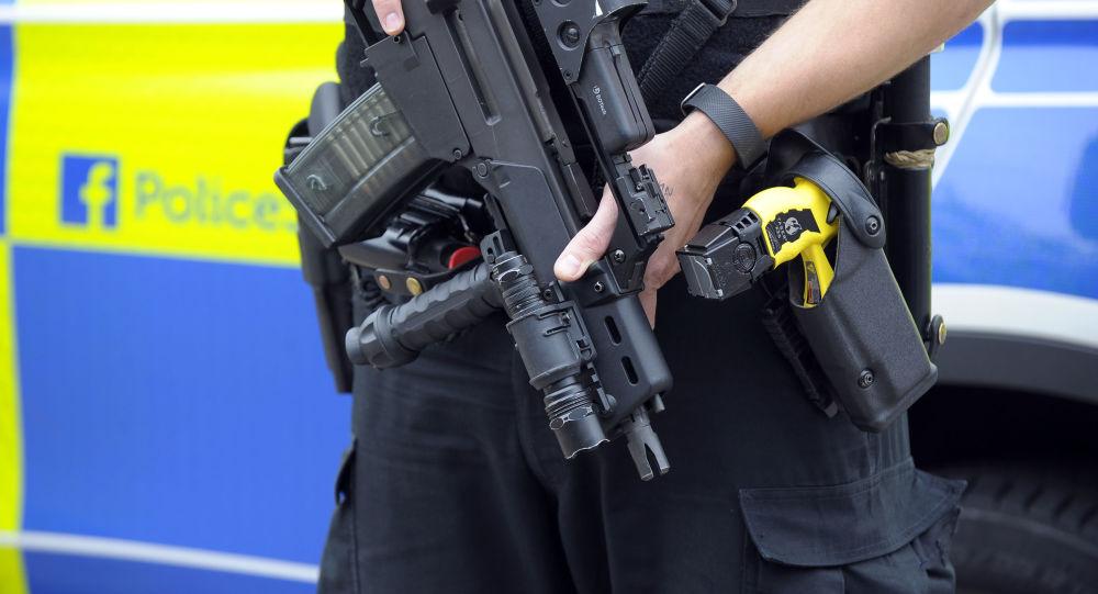 Policjant w Glasgow