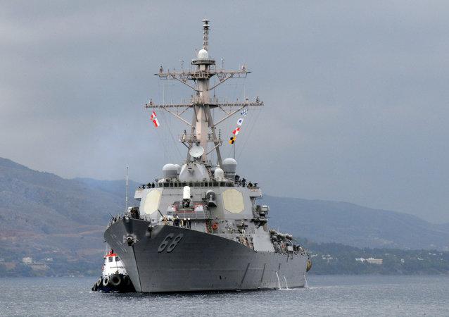 Amerykański niszczyciel USS The Sullivans