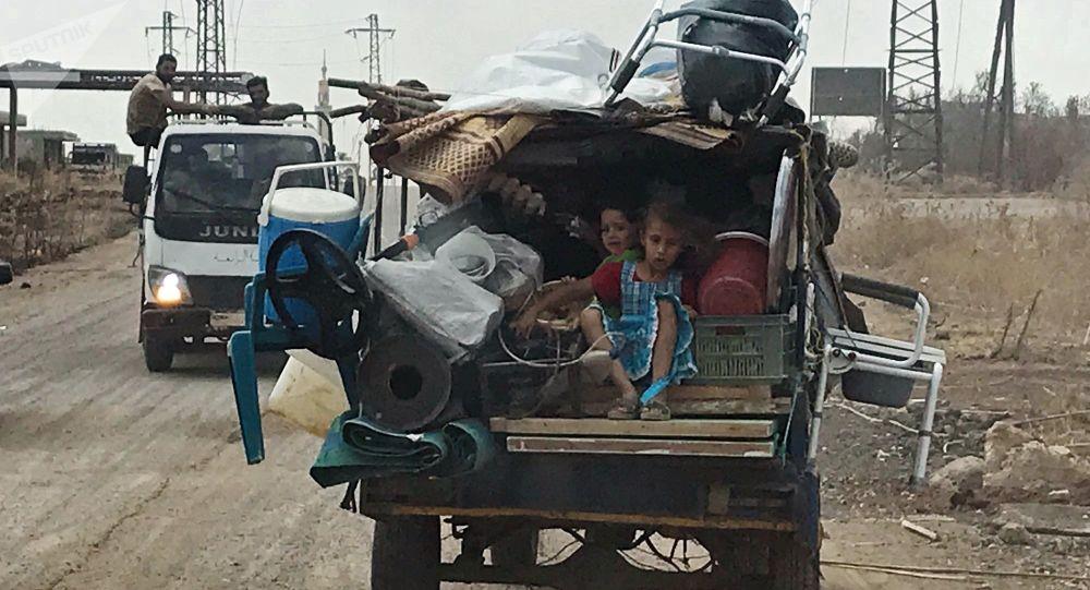 Sytuacja w Syrii, sierpień 2018