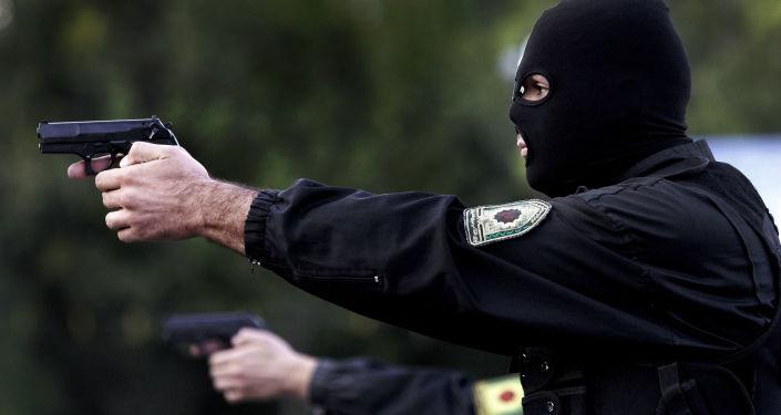 Irańscy policjanci