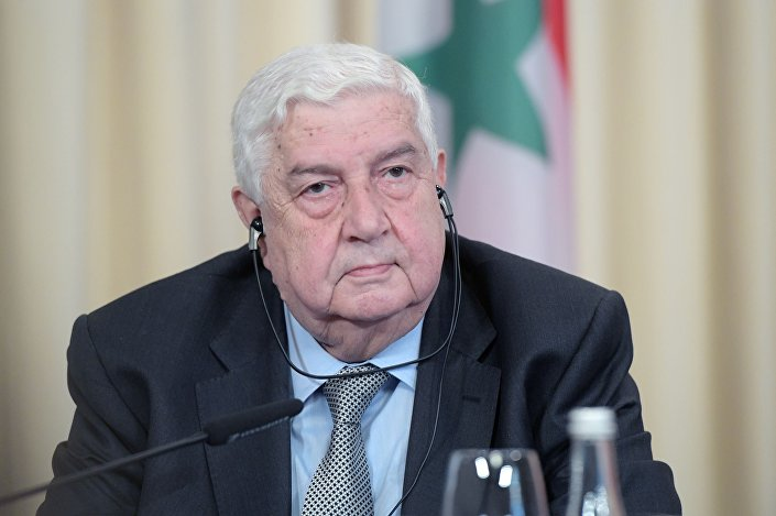 Minister spraw zagranicznych Syryjskiej Republiki Arabskiej Walid Muallem