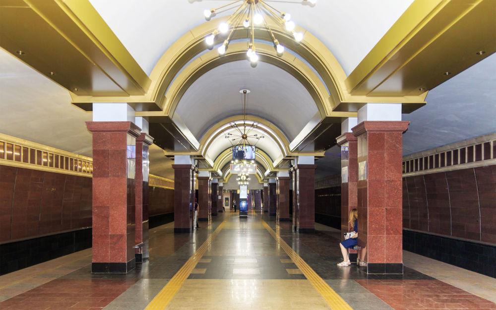 Stacja metra Prospekt Pobedy w Kazaniu