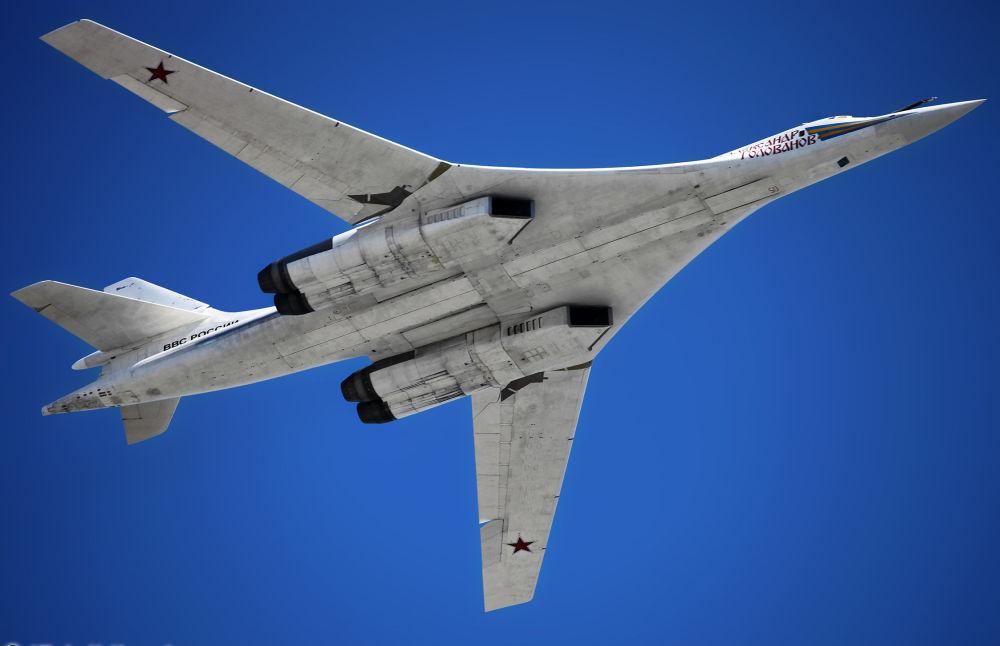 Ponaddźwiękowy rakietonośny bombowiec strategiczny Tu-160