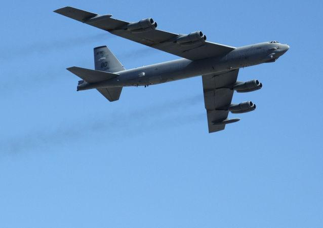Strategiczny amerykański myśliwiec B-52