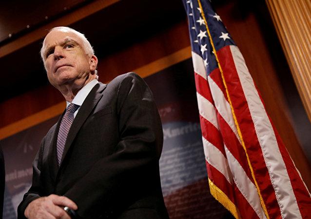 Senator John McCain, 2017