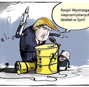 Donald na straży światowego bezpieczeństwa