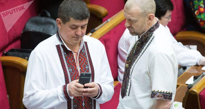 Deputowany do Rady Najwyższej Maksim Burbak