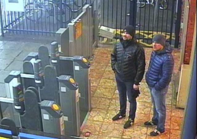 Rusłan Boszyrow i Aleksander Petrow, podejrzani o zatrucie Skripalów