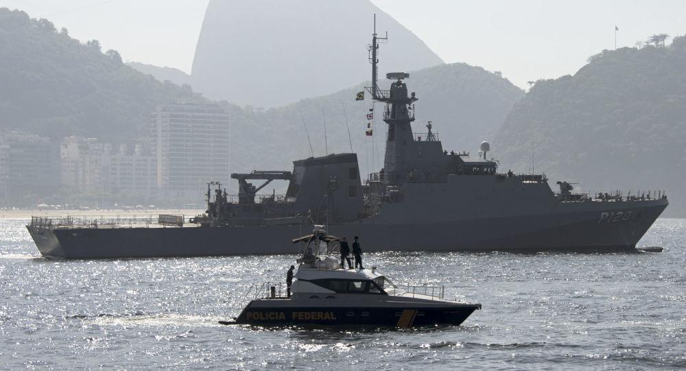 Okręty marynarki wojennej Brazylii w Rio de Janeiro