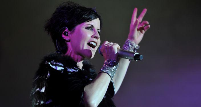 Irlandzki piosenkarka Dolores O'Riordan
