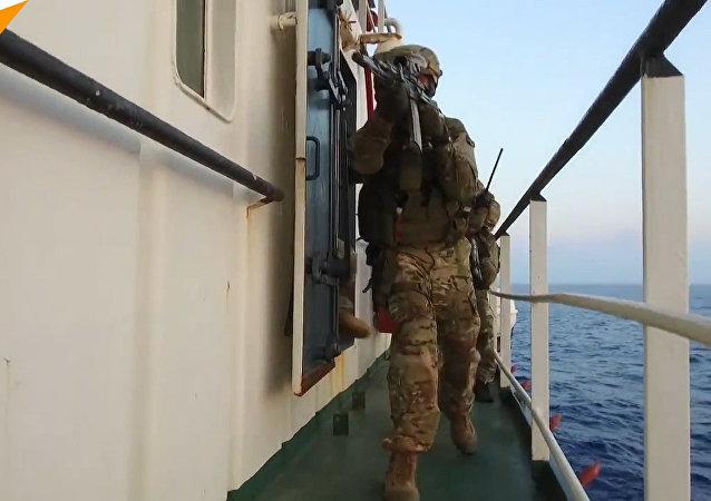 Na Morzu Śródziemnym rosyjskie siły specjalne zneutralizowały «sabotażystów»