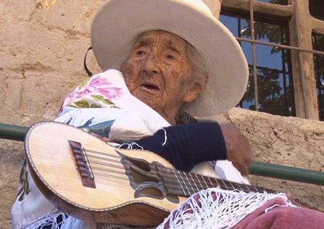 118-latka z Boliwii
