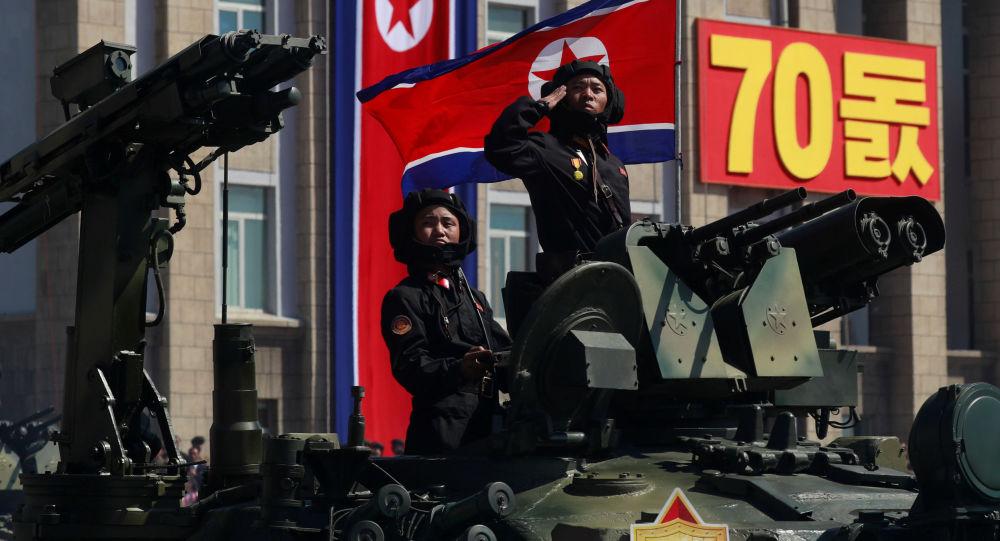 Parada w Korei Północnej