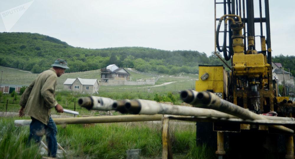 Wiercenie studni, Krym