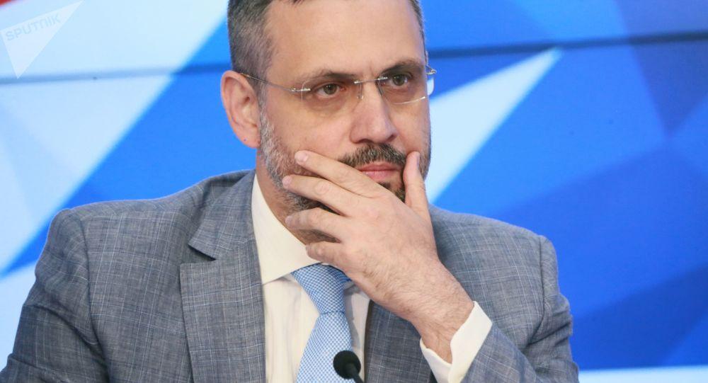 Szef Departamentu Synodalnego Rosyjskiego Kościoła Prawosławnego ds. Stosunków Kościelnych ze Społeczeństwem i Mediami Władimir Legojda