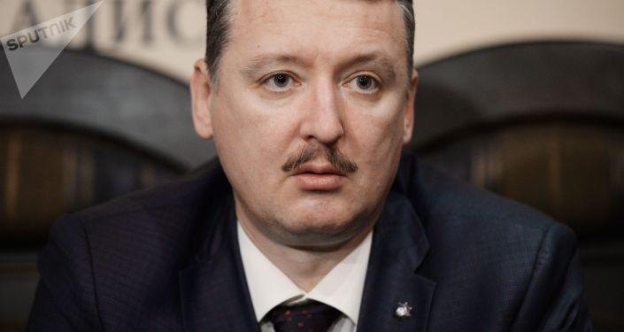 Były minister obrony Donieckiej Republiki Ludowej Igor Strielkow