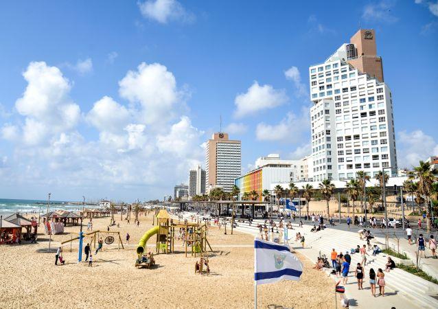 Nabrzeże w Tel Awiwie