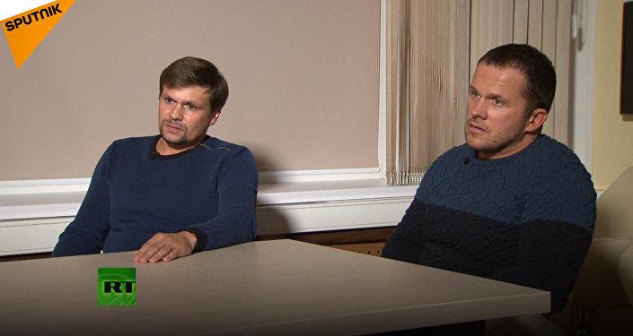 Wywiad z Rosjanami, podejrzanymi o otrucie Skripala
