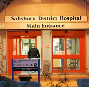 Szpital w Salisbury, do którego zostali przewiezieni Siergiej i Julia Skripal