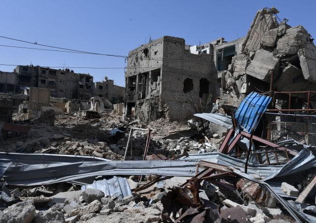 Przedmieścia Damaszku - Duma