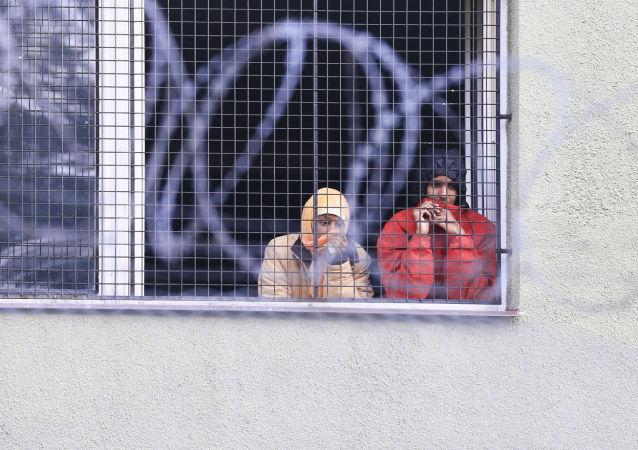 Nielegalni imigranci w Czechach