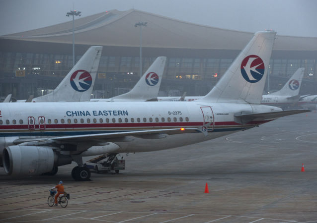 Samolot linii lotniczych China Eastern Airlines