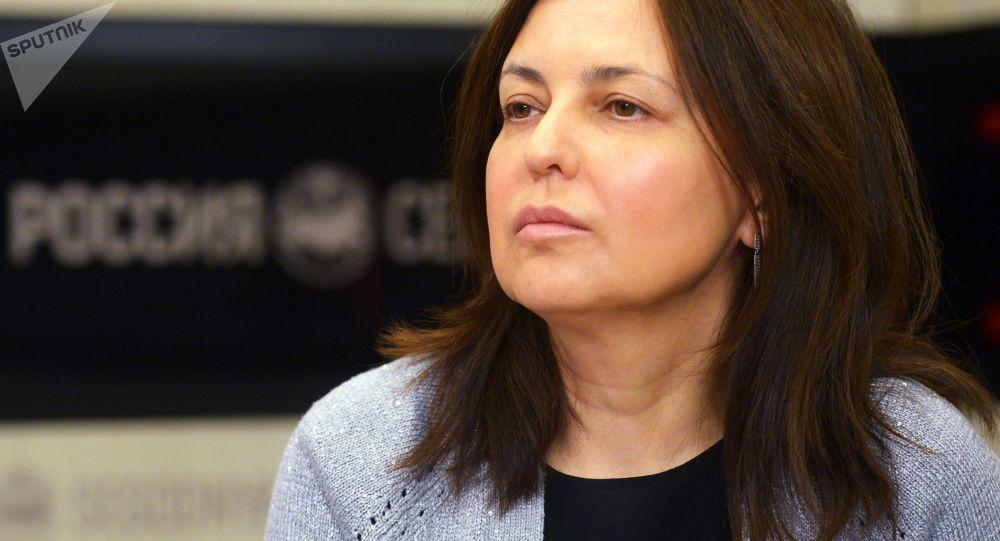 Geriatra naczelny rosyjskiego Ministerstwa Zdrowia Olga Tkaczowa.