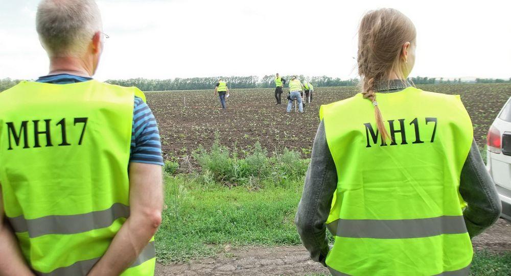 Międzynarodowi eksperci w rejonie katastrofy Boeinga 777 w obwodzie donieckim