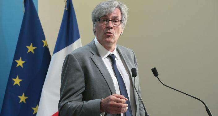 Rzecznik francuskiego rządu Stéphane Le Foll